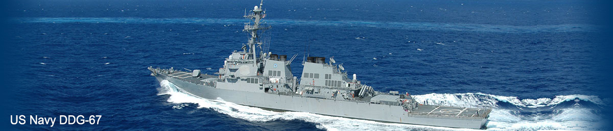 US Navy DDG-67